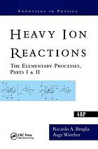 Heavy ion reactions : lecture notes