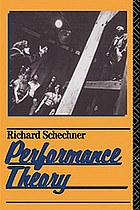 Essays on performance theory, 1970-1976