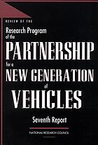 Review of the research program of the Partnership for a New Generation of Vehicles : third report