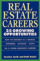 Real estate careers : 25 growing opportunities