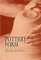 Pottery form
