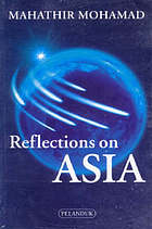 Reflections on Asia