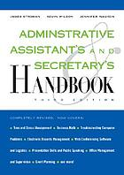 Administrative assistant's and secretary's handbook, third edition
