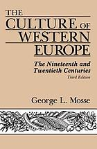 The culture of western Europe: the nineteenth and twentieth centuries, an introduction