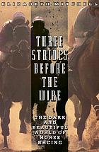 Three strides before the wire : the dark and beautiful world of horse racing