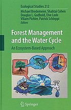 Forest management and the water cycle : an ecosystem-based approach