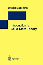 Introduction to solid-state theory Festkörpertheorie