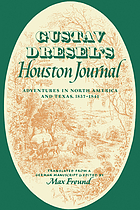 Houston journal; adventures in North America and Texas, 1837-1841