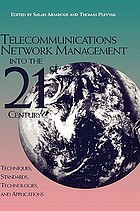 Telecommunications network management : technologies and implementations