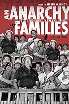 An anarchy of families : state and family in the Philippines