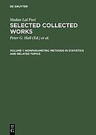 Nonparametric methods in statistics and related topics