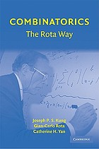 Combinatorics : the Rota way