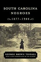 South Carolina Negroes, 1877-1900