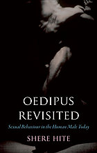 Oedipus revisited : sexual behaviour in the human male today