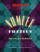 Mensa Publications number puzzles for math geniuses