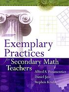 Exemplary practices for secondary math teachers