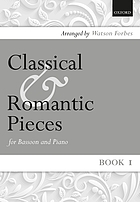 Classical & romantic pieces