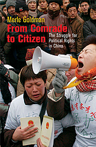 From comrade to citizen : the struggle for political rights in China