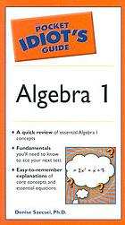 The pocket Idiot's guide to algebra 1