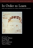 In order to learn : how the sequence of topics influences learning
