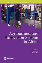 Agribusiness and innovation systems in Africa