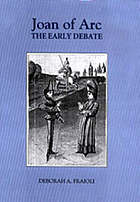 Joan of Arc : the early debate