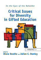 In the eyes of the beholder : critical issues for diversity in gifted education