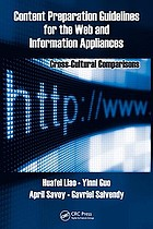 Content preparation guidelines for the web and information appliances : cross-cultural comparisons