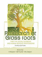 Research at grass roots : for the social sciences and human services professions