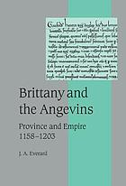 Brittany and the Angevins : province and empire, 1158-1203