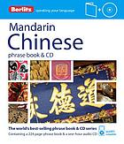 Mandarin Chinese phrase book & CD