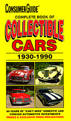 Complete book of collectible cars, 1930-1990