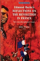 Edmund Burke's Reflections on the revolution in France : new interdisciplinary essays
