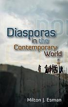 Diasporas in the contemporary world