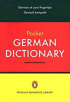 Penguin pocket German dictionary : English-Deutsch German-English