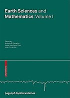 Earth Sciences and Mathematics : Volume 1