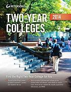 Peterson's two-year colleges 2014