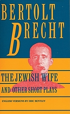 The Jewish wife and other short plays.