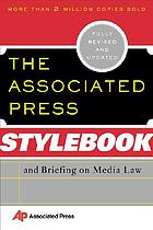 Stylebook and briefing on media law
