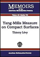 Yang-Mills measure on compact surfaces