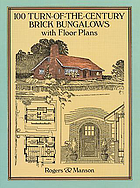 100 turn-of-the-century brick bungalows with floor plans.