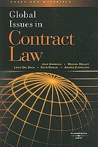 Global issues in contract law