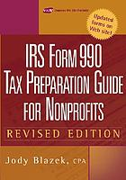 IRS form 990 : tax preparation guide for nonprofits