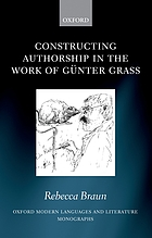 Constructing authorship in the work of Günter Grass