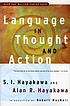 Language in thought and action by  S  I Hayakawa