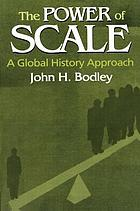 The power of scale : a global history approach
