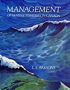 Management of marine fisheries in Canada