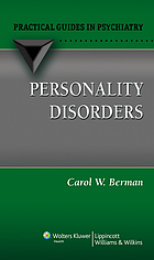 Personality disorders : a practical guide