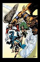 Stan Lee presents the Defenders.