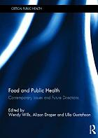 Food and public health : contemporary issues and future directions